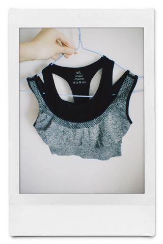 Sports bra top dance 運動內衣 可外穿 瑜珈 yoga running gym