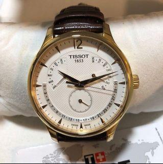 Tissot Swiss watch day,date,month