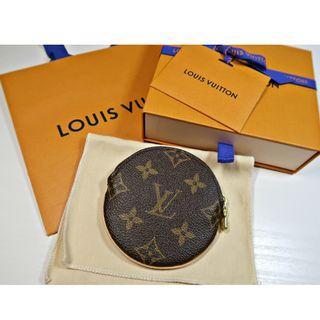 Authentic Louis Vuitton Round Coin Pouch