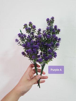 🚚 Plastic flowers for DIY