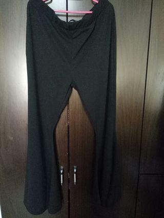 🚚 Black Bell Bottom Pants