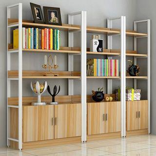 精品鋼木書架客廳裝飾架展示架