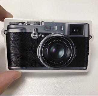 FUJIFILM FINEPIX X100相機造型memo紙
