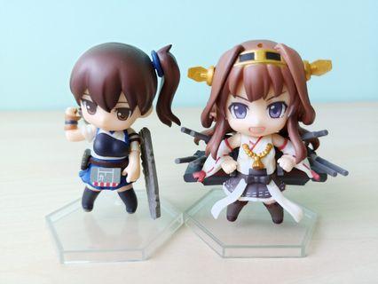 Kantai Collection Kancolle Nendoroid Petit Kongo and Kaga figurine