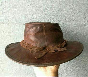 Cowboy Hat Leather (Hand made)