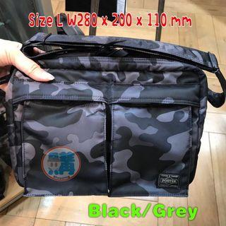 Head Porter Shoulder Bag 迷彩 size L (全新,購自日本)