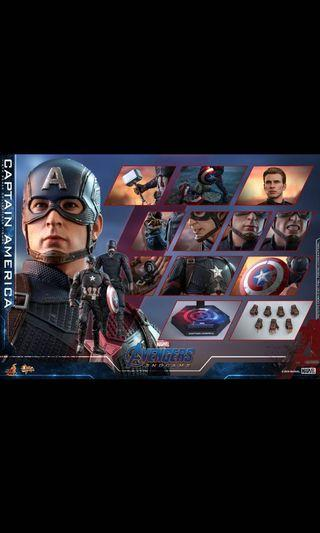 Hottoys Endgame - Captain America (MMS536) 13/5 單