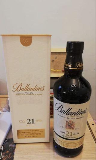 Ballantine's 21 Years Old Blended Scotch Whisky