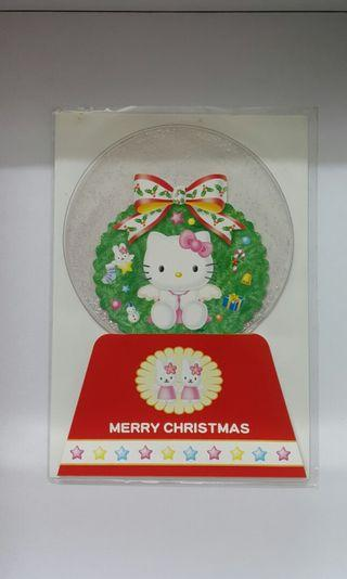 Hello Kitty Vintage Christmas & Greeting Cards x 3pcs
