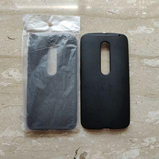 Matte Black Case for Moto X Pure/Style