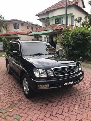 Toyota Land Cruiser Cygnus Petrol