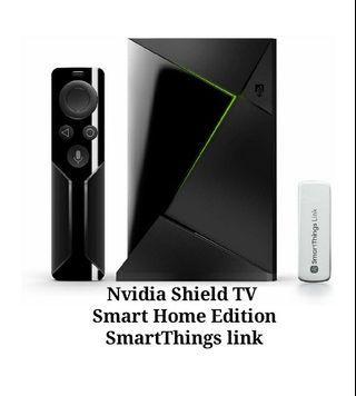 NVIDIA Shield TV Smart Home Edition SmartThings Link