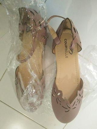 Vintage Dusty-Pink Shoes