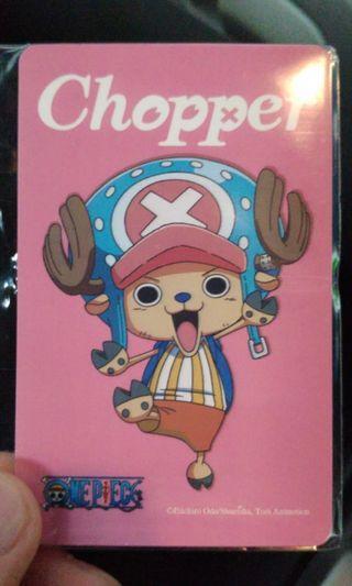 One Piece Chopper Ezlink Card