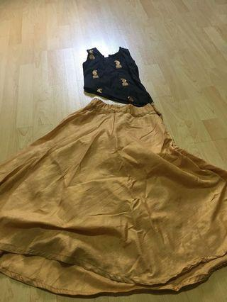 Skirt and TOP Indian dress