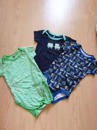 Carter's Baby Rompers (3 pieces)