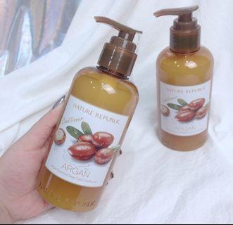 韓國 Nature Republic 摩洛哥堅果精華深層護理潤髮乳 300ml