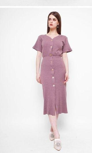 AND OTHER DAYS LILAC DRESS
