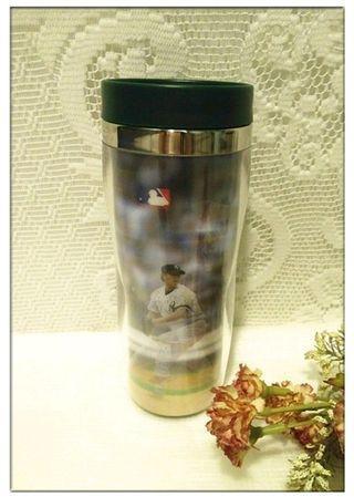 🚚 全新 王建民 時尚隨行杯 360ml 3D立體變化球造型冷水壺 隨身壺 杯子 水杯 茶杯 隨身杯
