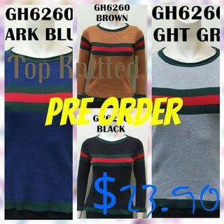 Tops Knitted-Pre Order