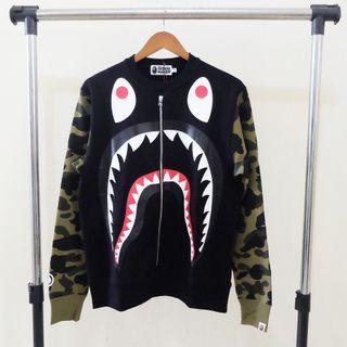 Bape Shark Crewneck Size M Original