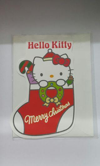 Hello Kitty Vintage Cards x 5pcs