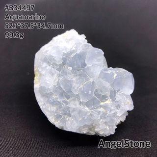 海藍寶原石/Aquamarine