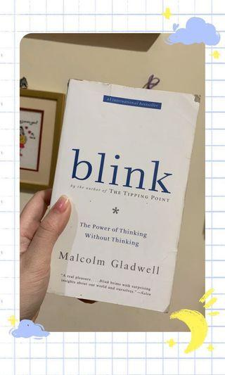 ✨ Blink (ENGLISH VERSION) by Malcom Gladwell only for 65k! ✨
