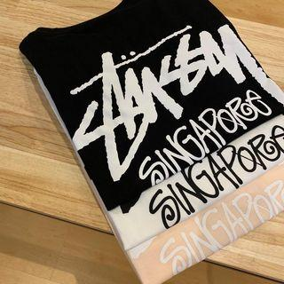 Stussy Singapore Exclusive Capsule - Official Tee / Hood