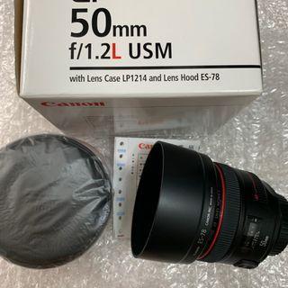 Canon 50MM F1.2 (公) UC