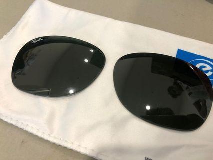 RayBan Wayfarer Black Glass Lens