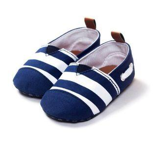 🚚 [12-18m] Navy Toms inspired baby shoes