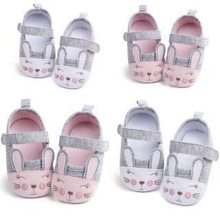 🚚 [6-12m] Pink bunny baby girl pre-walker shoes