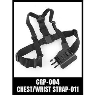 GOPRO CHEST STRAP HARNESS CGP-004 BLACK