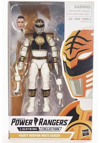 [Last Piece] Hasbro Lightning Collection Mighty Morphin Power Rangers White Ranger