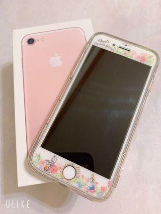iPhone 7 128G玫瑰金🌸