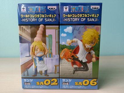 One Piece History of Sanji WCF SA 02/06 Figurine