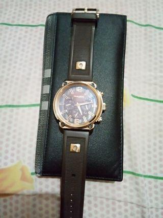Jam Tangan police original Gold