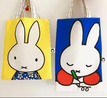 英國設計師handmade Miffy 小環保袋