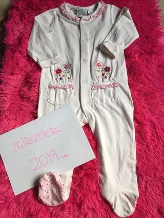 Baby Sleepsuit Size 3-6months