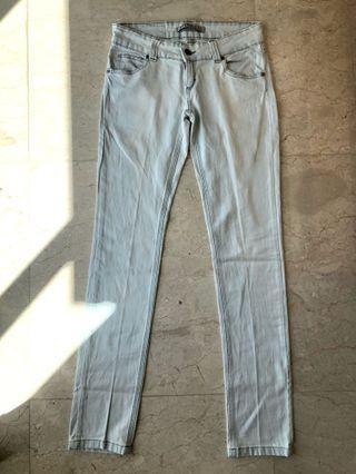 ZARA TRF Light Blue Jeans