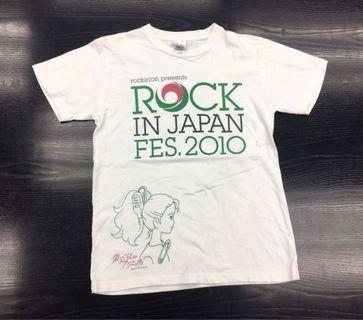 Vintage Rock In Japan Fes. Tee