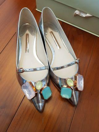 Sophia Webster Embellished Piper Gem Flats