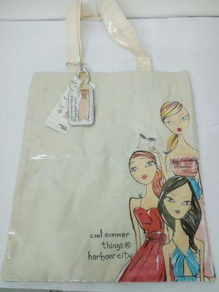 美女圖過膠Tote Bag