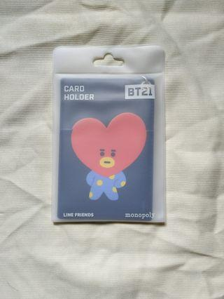 BT21 MONOPOLY CARD HOLDER & POP NECK STRAP