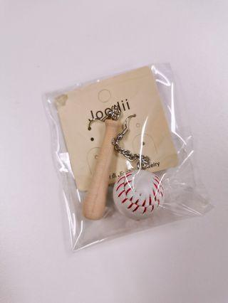 🚚 Korean baseball Earrings