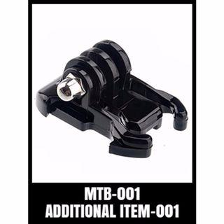 GOPRO QUICK RELEASE BASIC MOUNT FLAT BUCKLE MTB-001