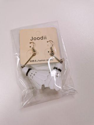 Korean shuttlecock Earrings