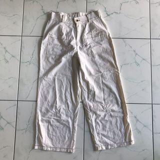 Ivory Culottes Pants