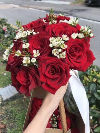 Bridal Bouquet | Fresh Flowers || Wedding | ROM | Engagement | Proposal
